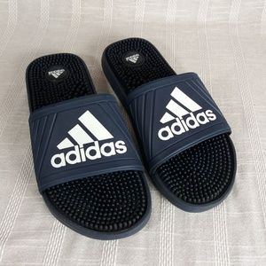 Adidas Voolossage Massaging Slides Sandals 10